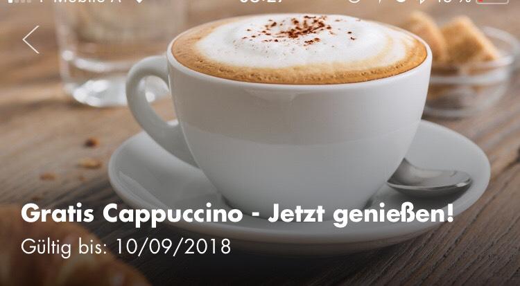 Gratis Cappuccino mit der Shell App