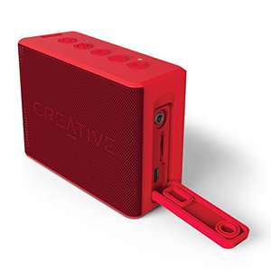 Amazon.es: Bluetooth Lautsprecher Creative Muvo 2c, rot, um 24,48€