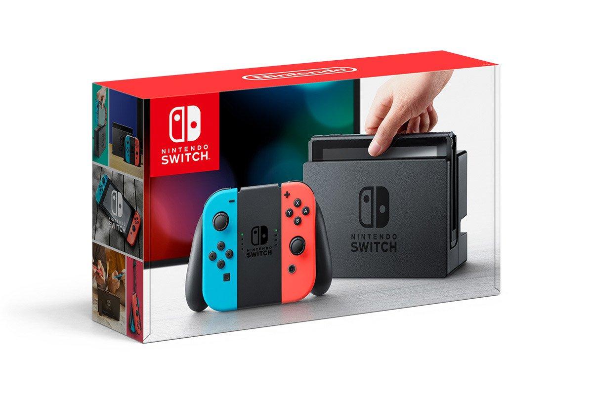 Nintendo Switch bei Müller für € 299,-
