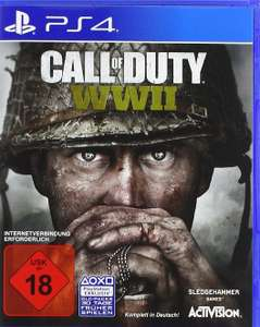 Call of duty WWII bei Amazon für 15,19€
