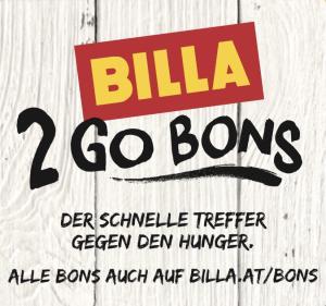 Neue Billa 2 Go Bons - bis 19.9.2018