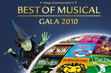 Best of Musical Gala 2010 - Tickets zum halben Preis bei vente-privee