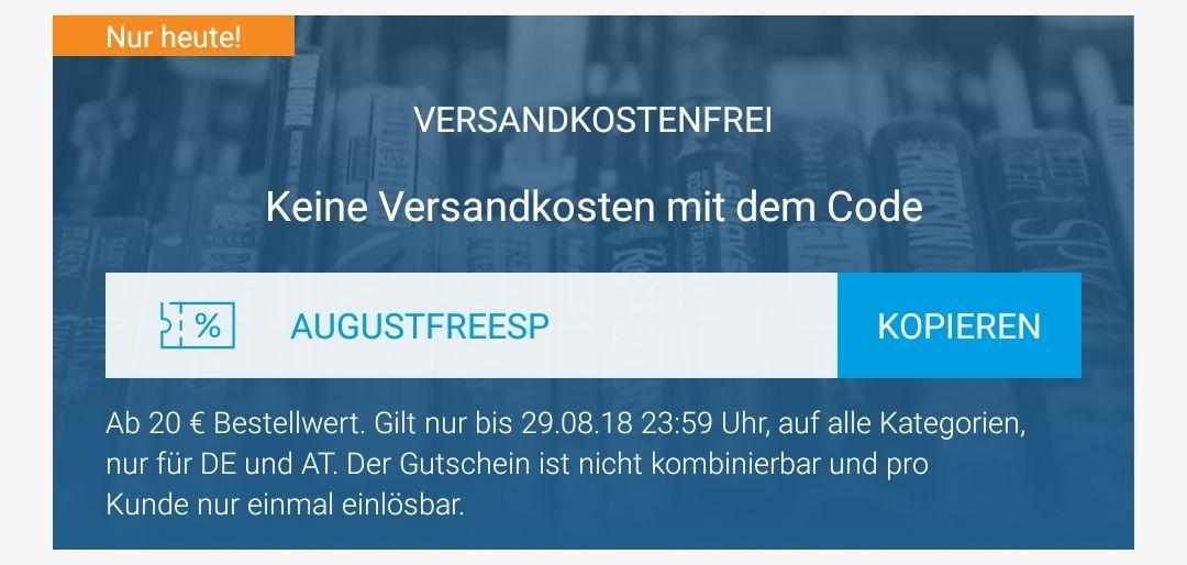 reBuy: kostenloser Versand ab 20€