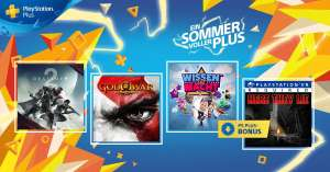 PS PLUS GAMES * Destiny 2 + God of War 3 Remastered