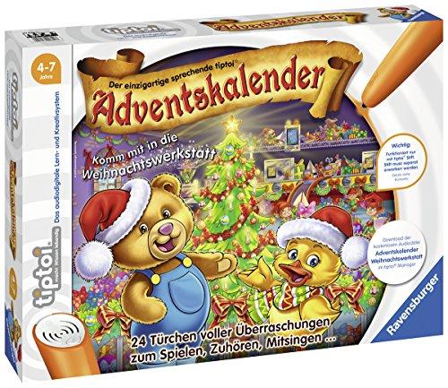 www.AMAZON.de  Ravensburger Tiptoi 00840 Tiptoi Adventskalender 2018 - Komm mit in Die Weihnachtswerkstatt  für € 10,07