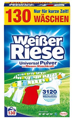 """Weißer Riese """"Universal"""" oder """"Color"""" (130 Waschladungen)"""