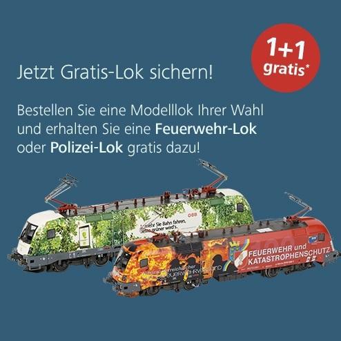 1+1 Modellbahn Aktion im ÖBB Onlineshop