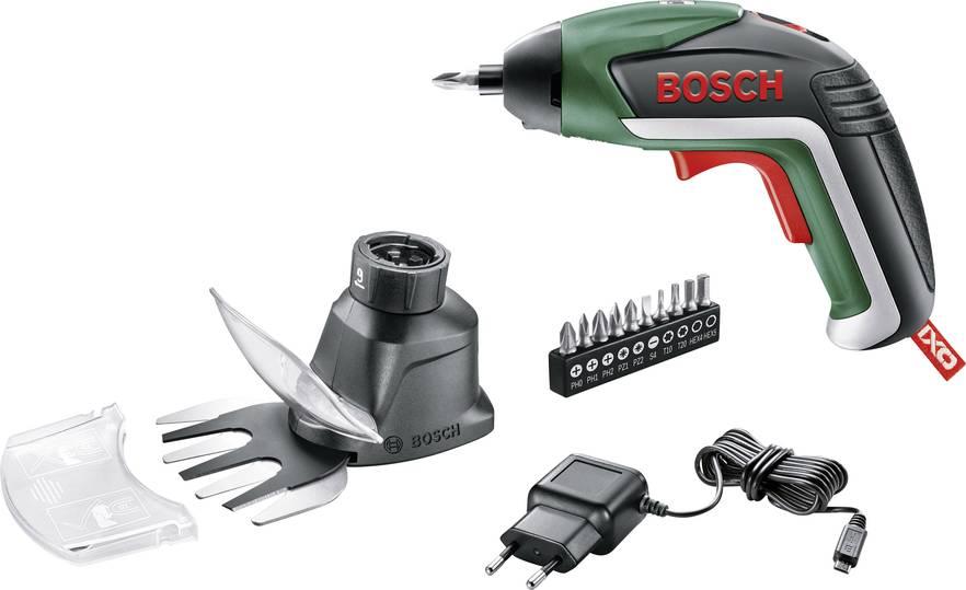 Bosch DIY Ixo V Akku-Schrauber 5. Gen. inkl. Akku 1.5Ah + Garten-Set (06039A800A) für 32,44€