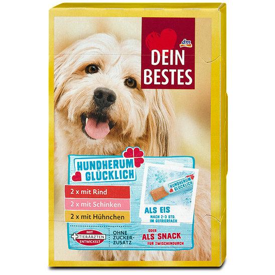 DM: Dein Bestes Hundherum glücklich Hundesnack