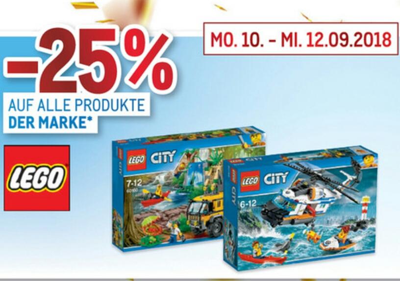 [METRO] -25% auf alle Produkte der Marke LEGO & -20% auf PAPSTAR