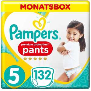 Pampers Premium Protection Pants Größe 4 Maxi/160 Stk, Größe 5/132 Stk, Größe 6/116 Stk für 26,08€