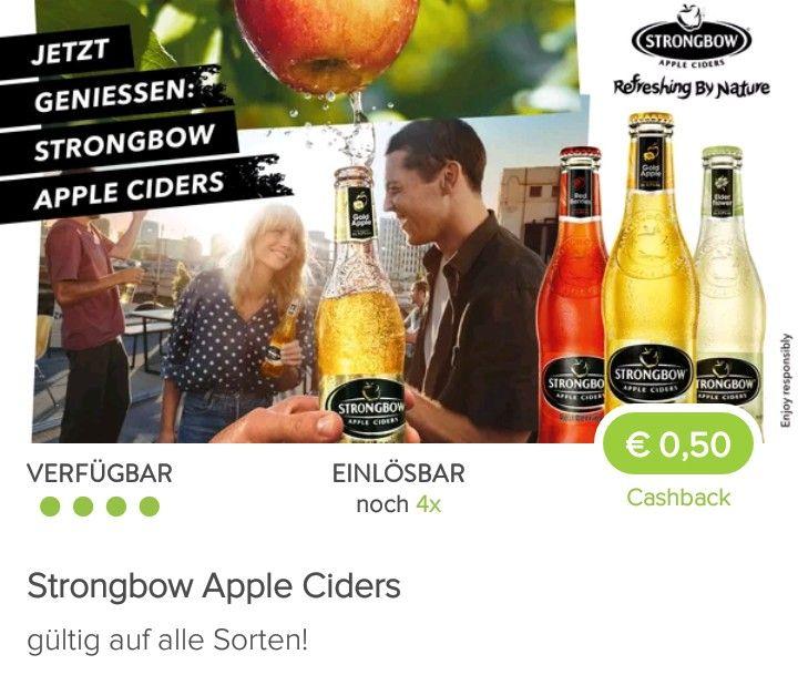 Billa + Marktguru: Strongbow Apple Cider 0,33l Flasche