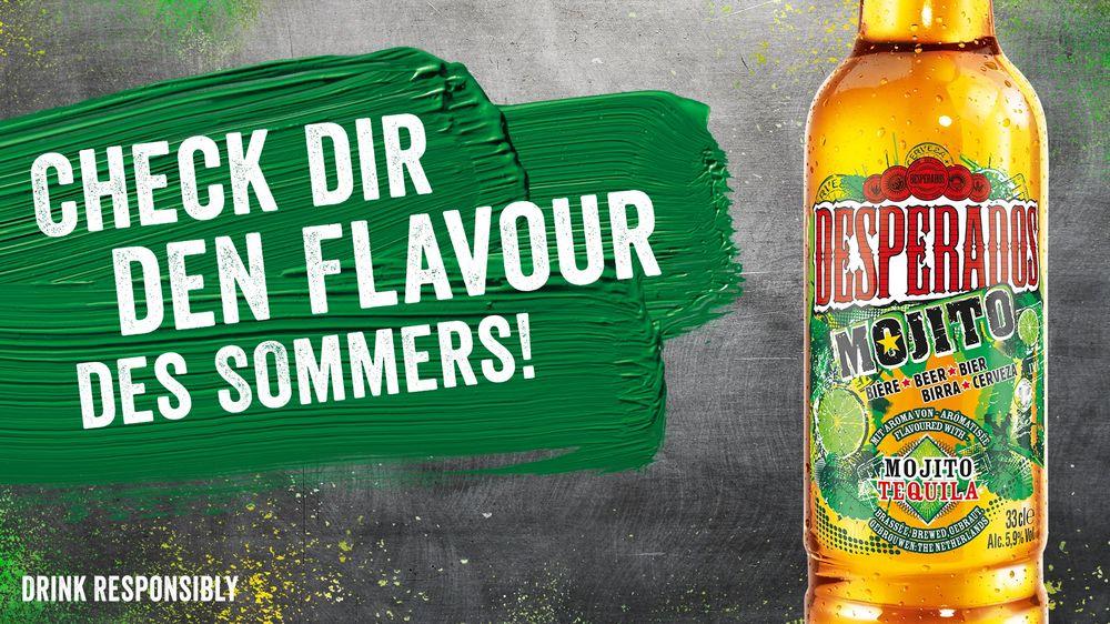 Desperados Mojito bei MERKUR (marktguru Cashback &-25% auf Bier)