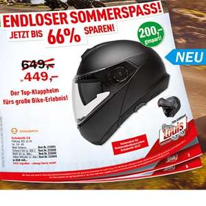 [Louis,Polo] Schuberth C4 Klapphelm ab 449 EUR