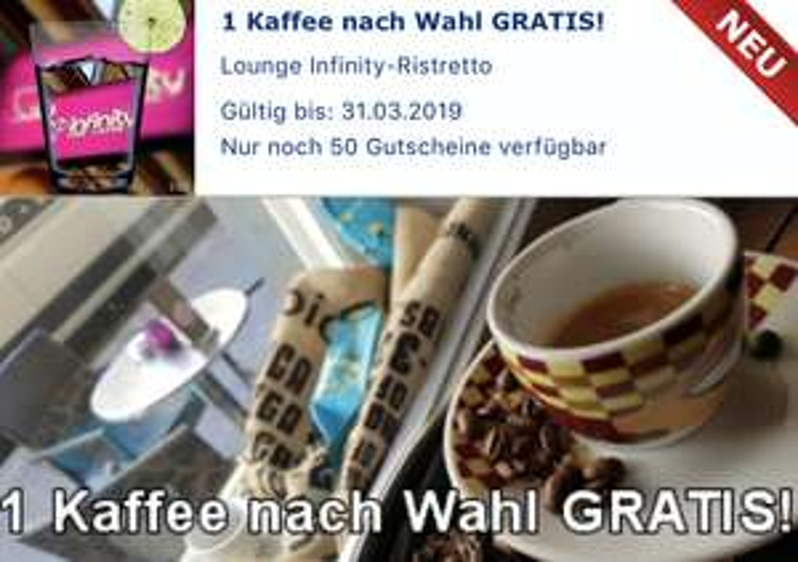 Gutschein.at: Kaffee nach Wahl GRATIS