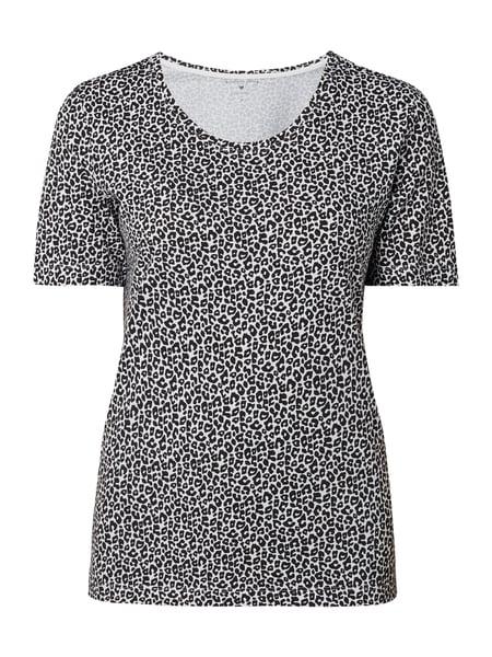 P&C: Christian Berg Women T-Shirt mit Leopardenmuster