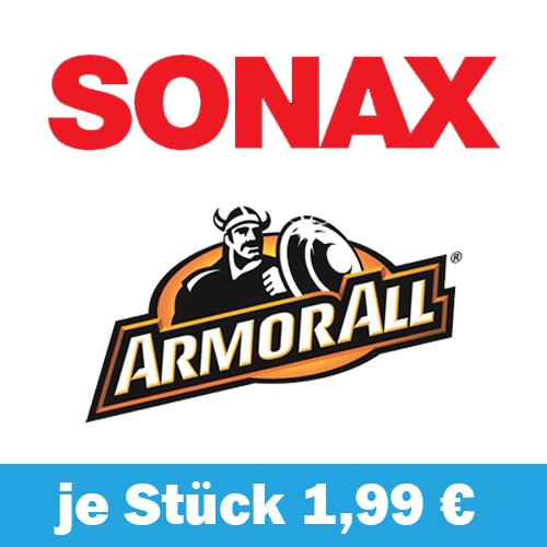 [Möbelix] Sonax und ArmorAll Pflegeprodukte für je 1,99 € (Ausverkauft) [Nightdeal]
