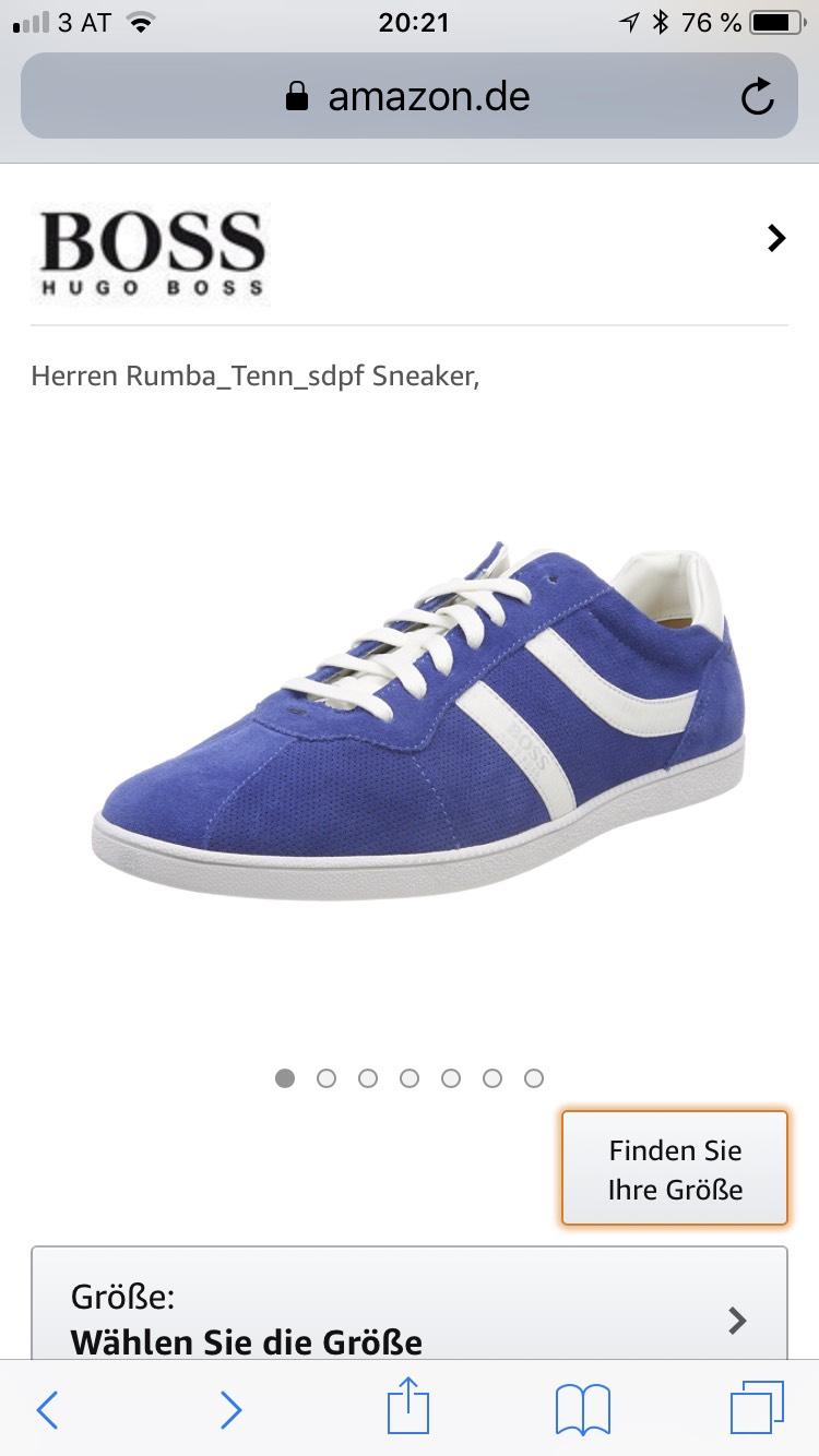 Hugo Boss Sneaker NUR in Größe 44
