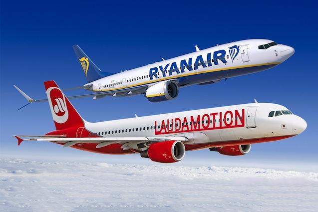 Flüge um 1 Euro bei Laudamotion! Nur heute zwischen 12-15 Uhr