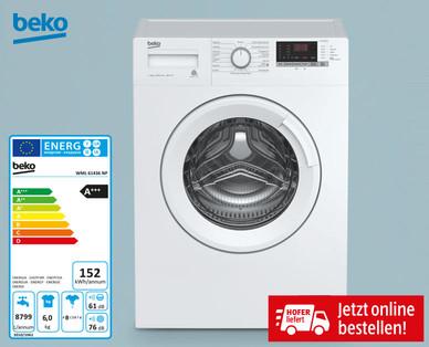 """Beko """"WML 61433 NP"""" Slim Waschmaschine Frontlader - inkl Lieferung - ab 20.9.2018"""