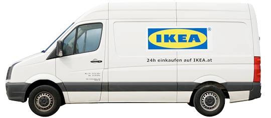 Ikea Graz: Leihtransporter-Aktion für Studenten