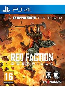 [base.com]  Red Faction Guerrilla Re-Mars-tered (PS4)