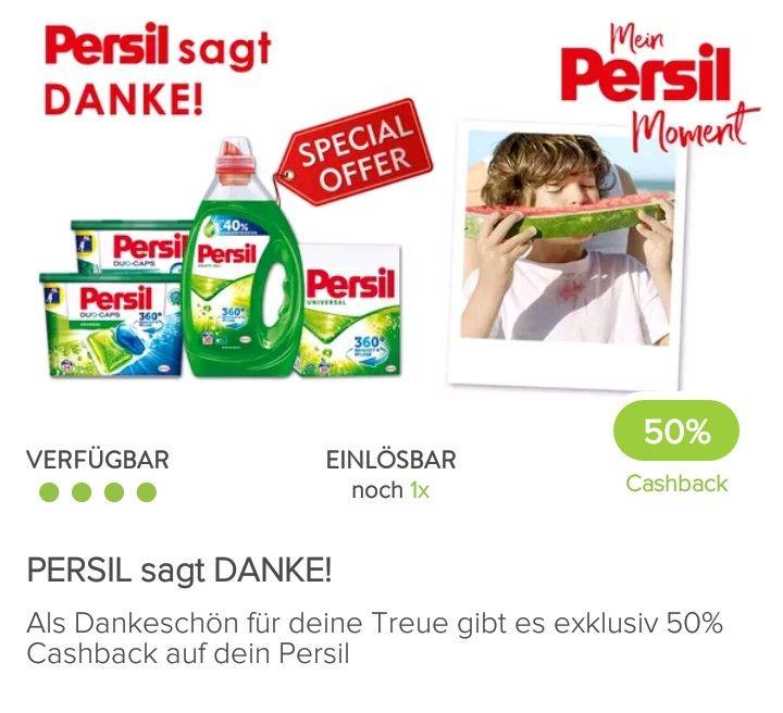 BIPA + MARKTGURU: Persil pro Waschgang €0,05995
