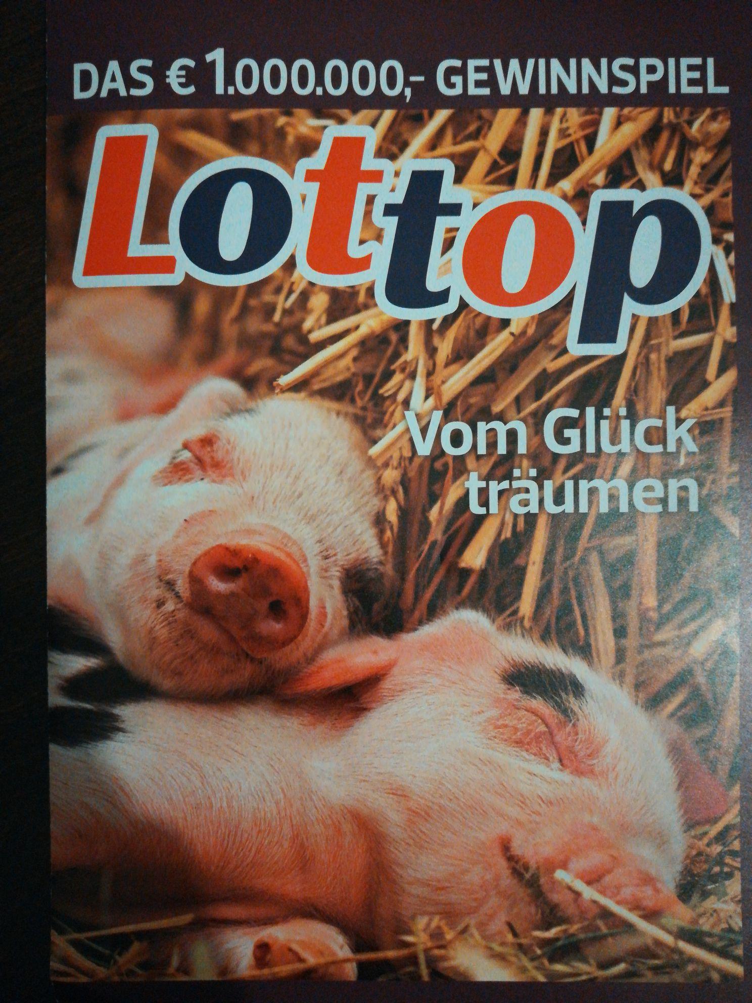 Lottop Gewinnchance ohne Abo aus der *die ganze Woche* Zeitschrift