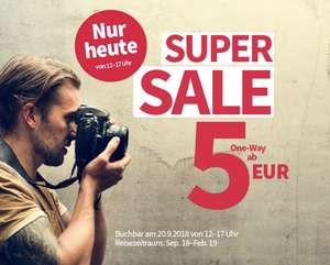 Super Sale bei Laudamotion