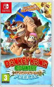[Müller/Amazon] Donkey Kong Country - Tropical Freeze (Nintendo Switch)