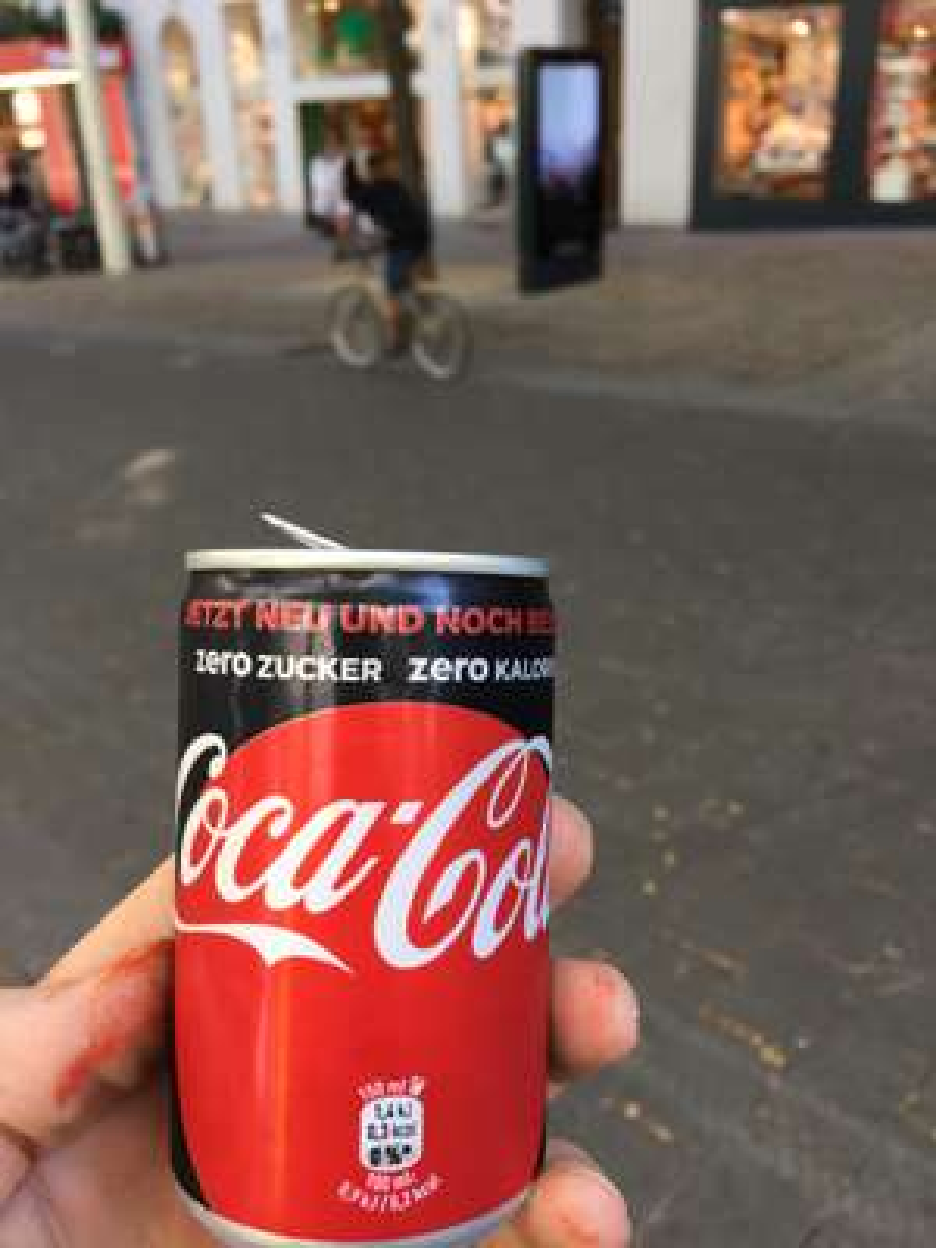 Gratis CocaCola Zero (150ml)