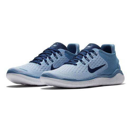 Nike Free Run 2018 Natural-Running Schuh Damen - Hellblau, Dunkelblau für 54,90€