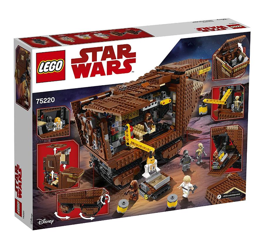Amazon.co.uk: Lego Star Wars Sandcrawler, um 78,69€