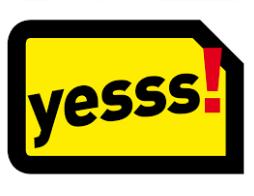 yesss.at: Gratis yesss! Vertragsstarterset
