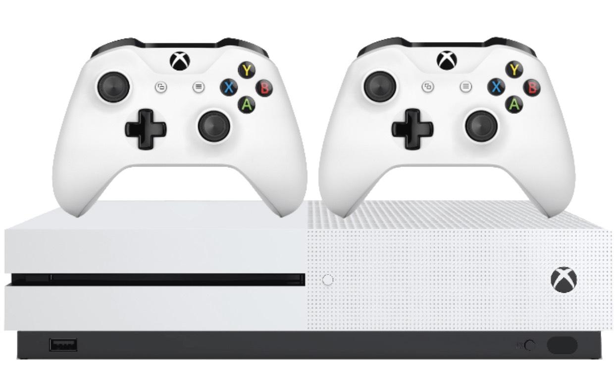 Xbox One S 1TB Konsole inkl. 2. Controller + Fifa19 für 249€