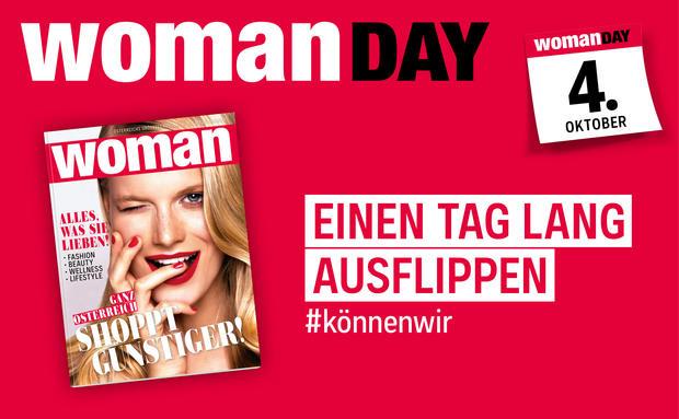 Woman Day - 20% auf Alles - 4.10.2018 - alle Gutscheine