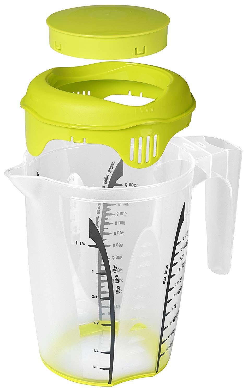 """[Pagro] ROTHO Mixbecher mit Deckel und Krug """"Fresh"""" 1,26 Liter - bei Abholung in der Filiale"""