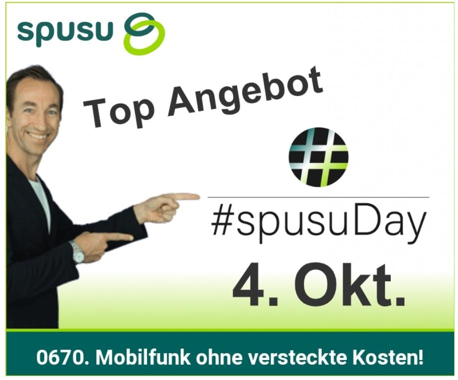 Vorankündigung: #spusuDay, A1 und T-Mobile Aktionstag am 04.10.2018