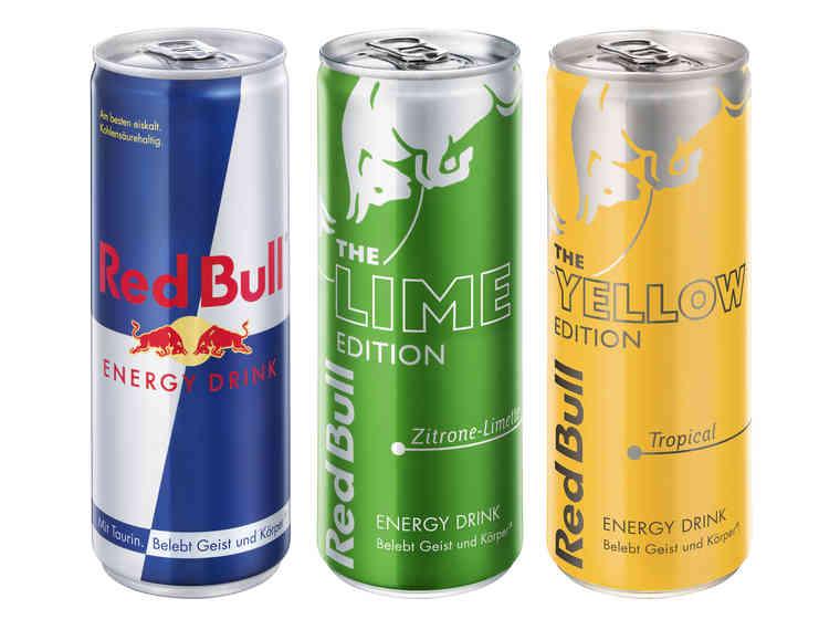 LIDL RED BULL Energy Drink am Sa 6.10.