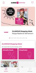 App Code für Glamour Shopping Week 2018