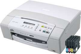 Multifunktionsdrucker Brother DCP 165C für 60€