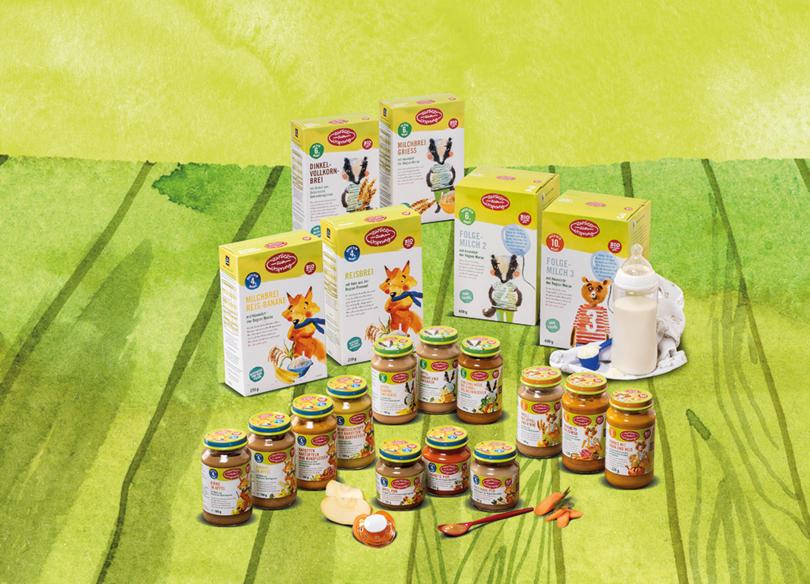 Hofer - Jetzt Bio Babynahrung zu 100% aus Österreich (palmölfrei)