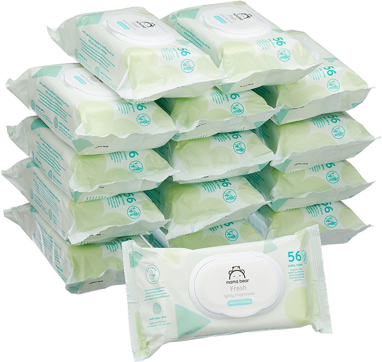 Sehr billig: 840 Stk (15x 56) Baby Feuchttücher