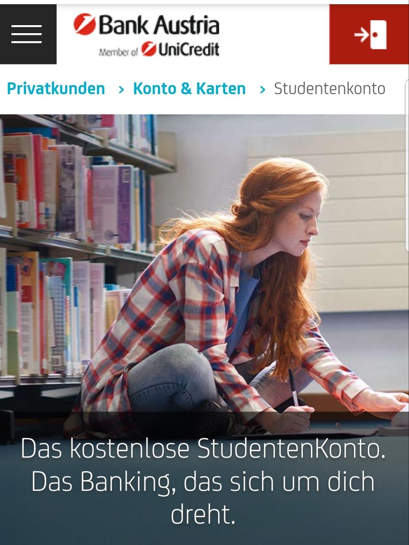 Kostenloses Studentenkonto mit Willkommensgutschein
