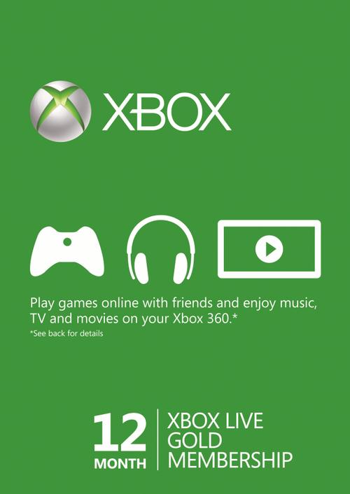 (VPN) 12 Monate Xbox live Mitgliedschaft für €25.09