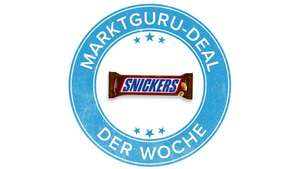 SNICKERS 1x 0,40€ Cashback - ab 15.10 - Marktguru.at
