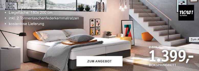 XXXLutz: Jetzt Bett von NOW by Hülsta um 1399€