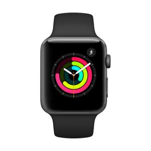[Cyberport / Logoix] Apple Watch Series 3 - 42 mm - Space Grau für 301,80 Euro