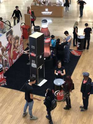 (late but great) Donauzentrum Wien - GRATIS Coca Cola Zero (150ml)