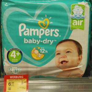 [Müller] Pampers Baby Dry 2+1